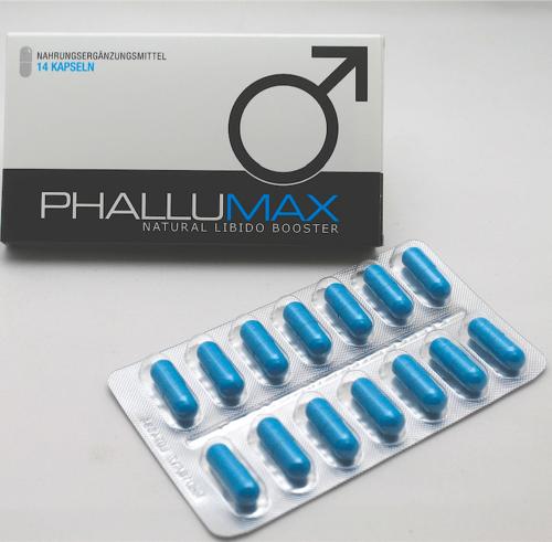 Phallumax Blister und Verpackung