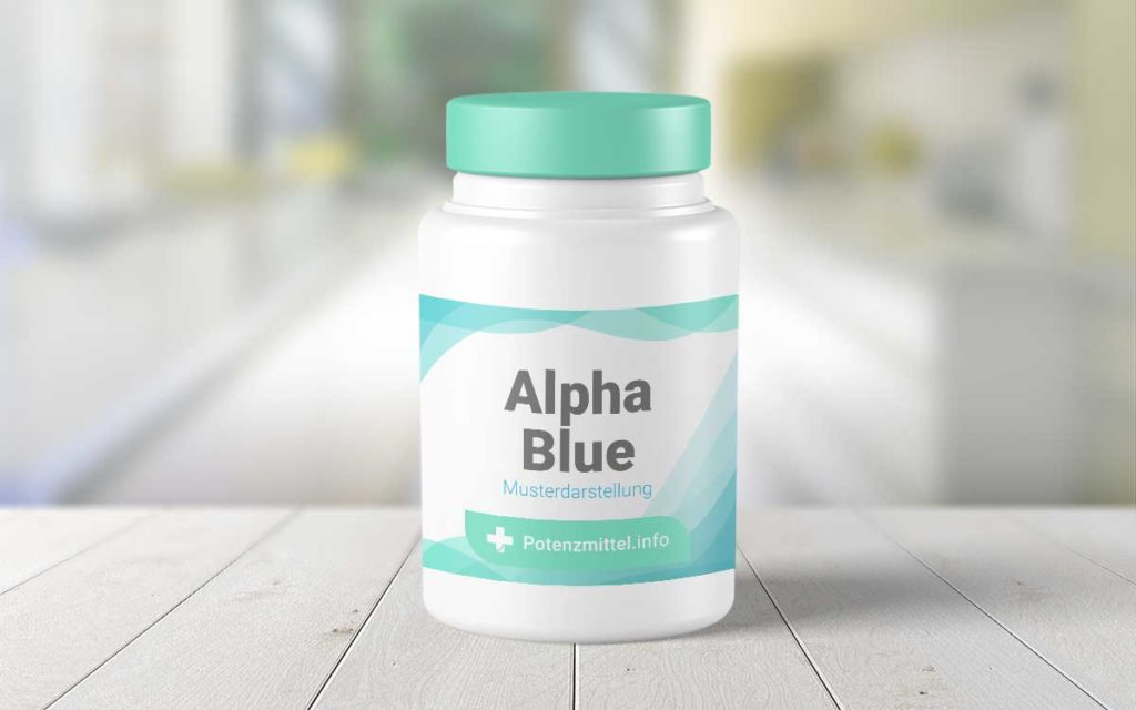 Potenzmittel Alpha Blue