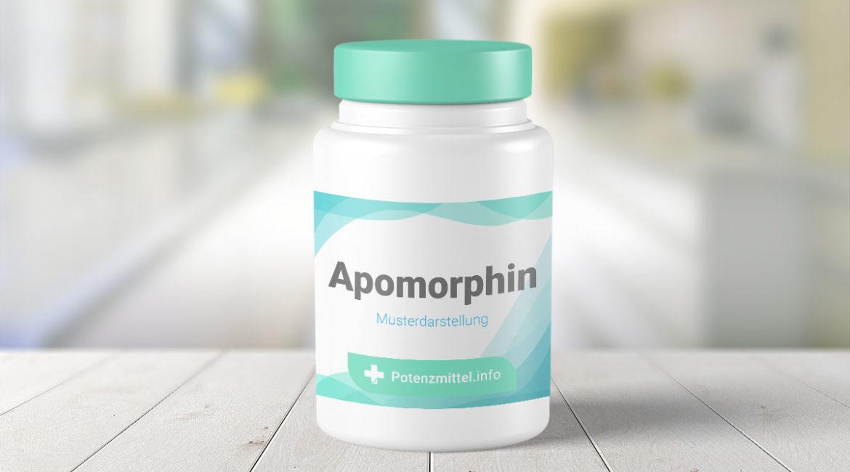 Potenzmittel Wirkstoff Apomorphin