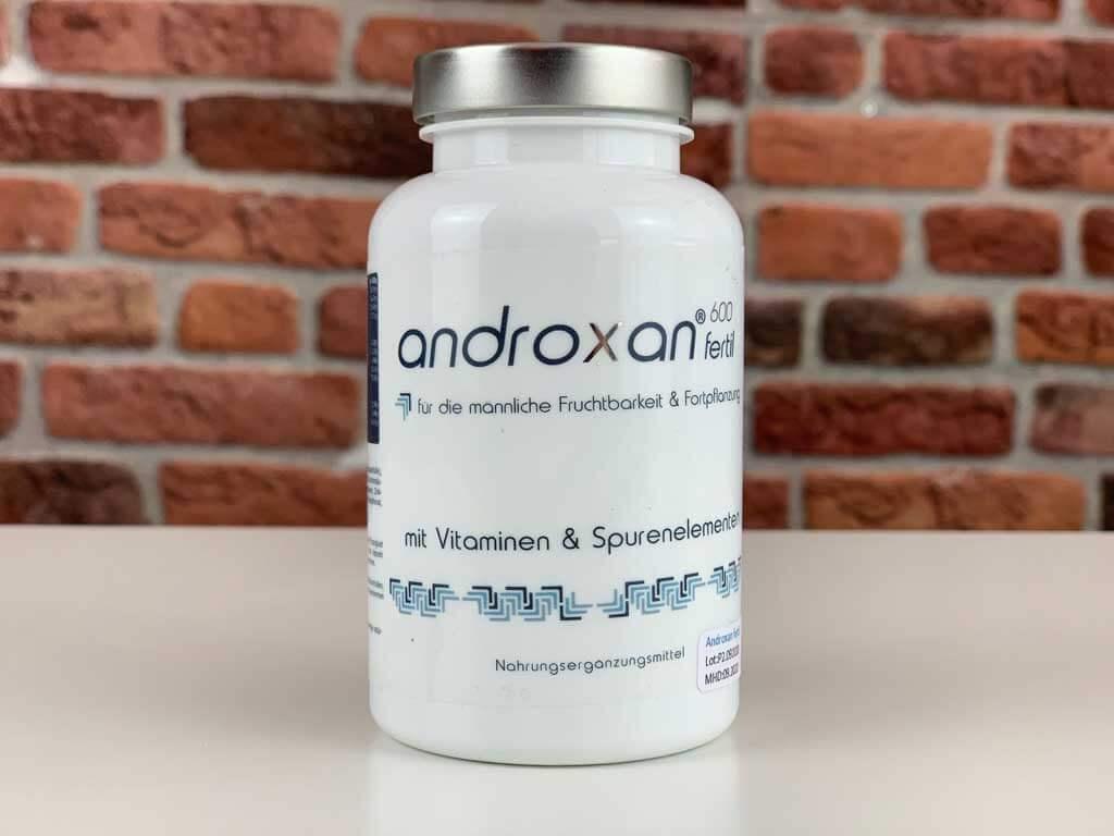 Originalverpackung Potenzmittel Androxan
