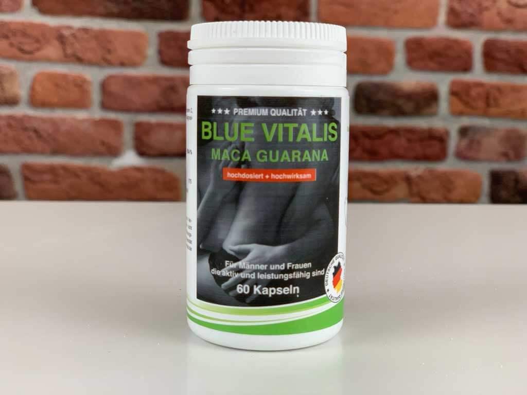 Originalverpackung Potenzmittel Blue Vitalis