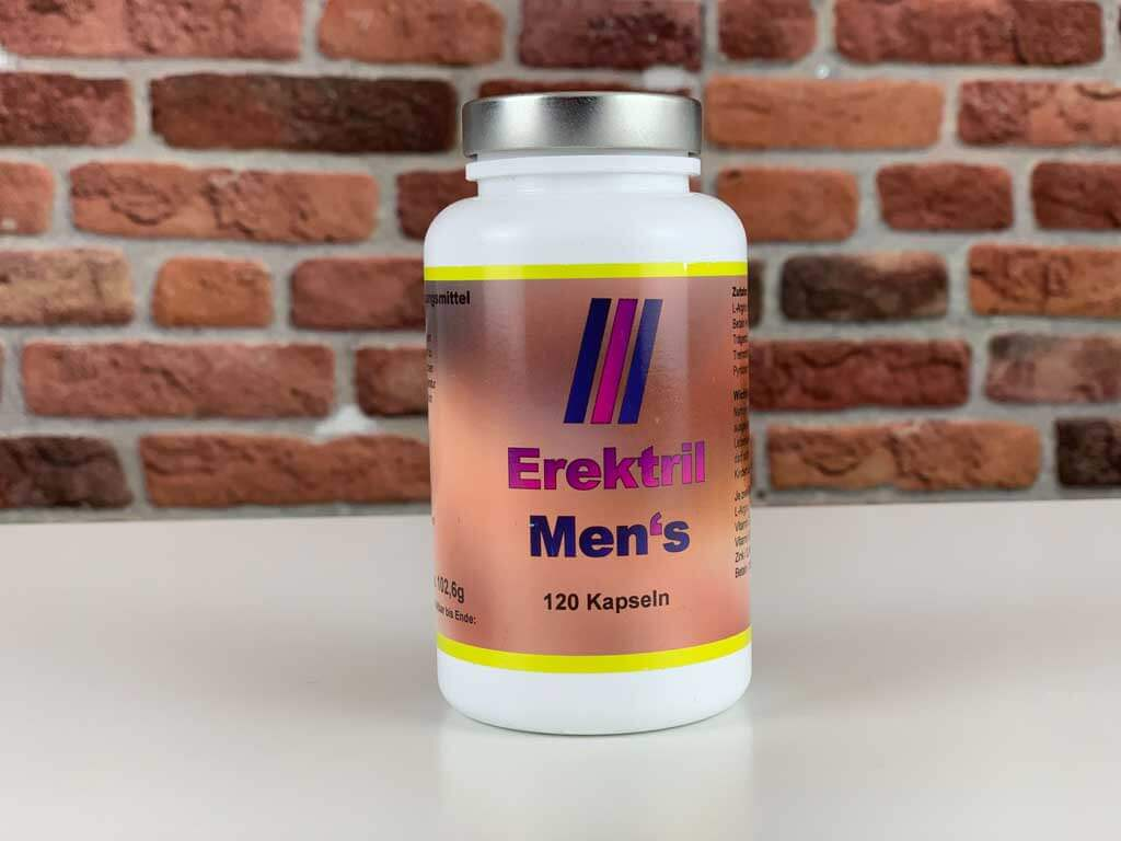 Originalverpackung Potenzmittel Erektril Men's