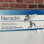 Originalverpackung Potenzmittel Neradin mit Potenzpillen